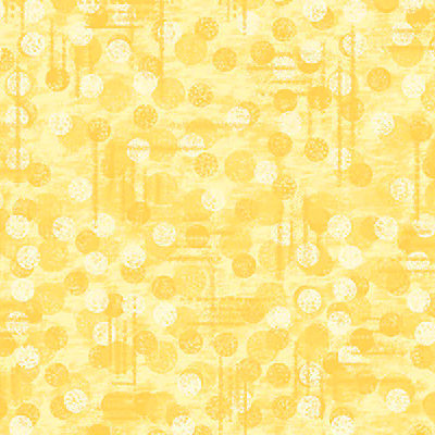9570-44 Yellow - Jot Dots - Blank Quilting