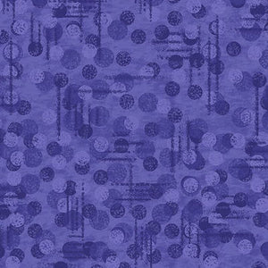 9570-55 Purple - Jot Dots - Blank Quilting