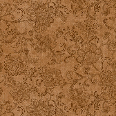 Accent on Sunflowers - Rust Brocade - 10216-88  - Benartex