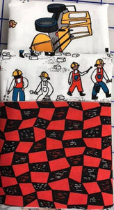 Build Bang Boom Pillowcase Kit Red