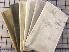 Fat Quarter Bundle of 6 Backgrounds Grunge  - Moda Fabrics