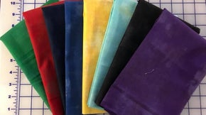 Half Yard Bundle of 8 Brights Grunge  - Moda Fabrics