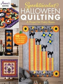 Halloween Quilting Book