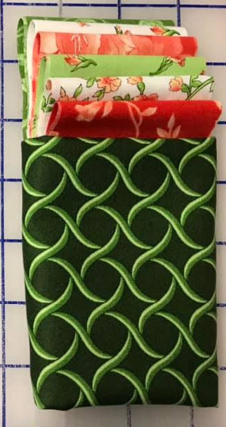 Kit - Drying Mat (one side) - Peach/Green