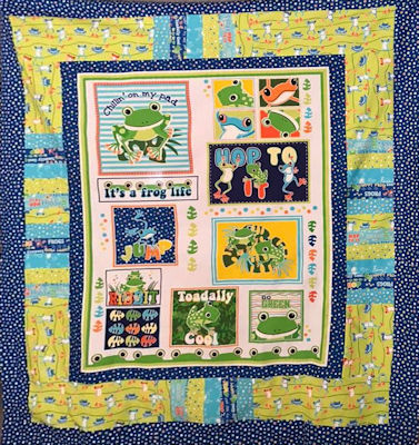 Toadally Cool Quilt Kit