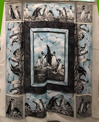 Penguin Dance Wallhanging Kit