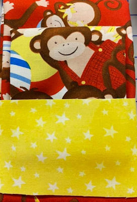 Pillowcase Kit - Monkey Business - Tossed Monkeys