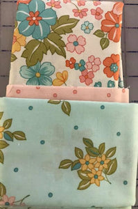 Pillowcase kit - sunlit blooms light flowers