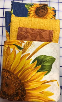 Sunflower Wallhanging/Pillow Kit