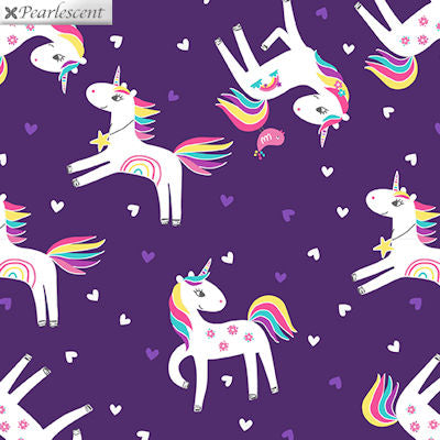 Unicorn Magic - Unicorn Love Purple - 9798P-66