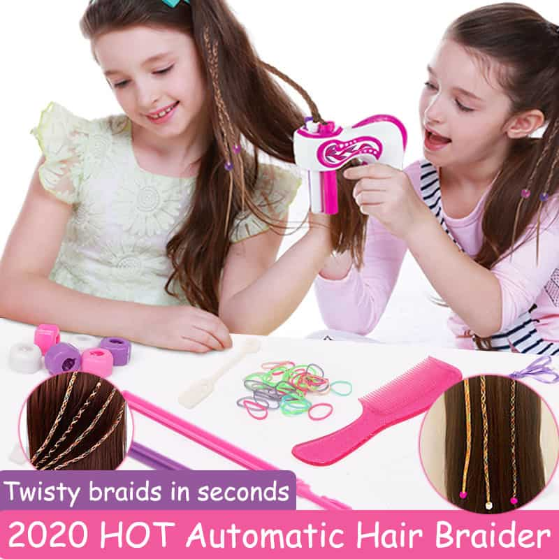 2020 Electric Automatic DIY Hair Knitting Machine Braider