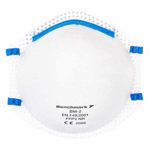 Benchmark BM-2 FFP2 Disposable Mask (20 Masks) - £4.25 PER MASK