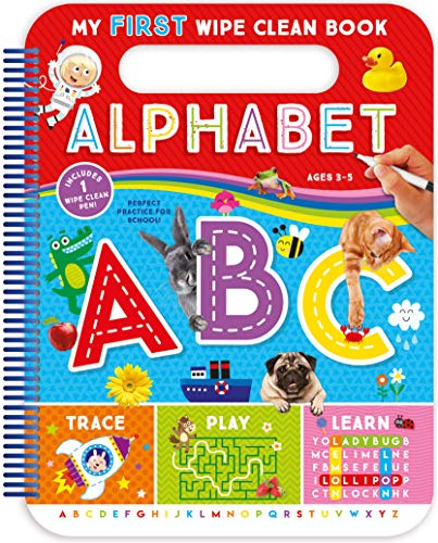 Alphabet (My First Wipe-Clean Book)