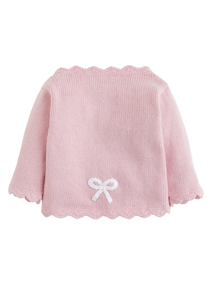 Bow Crochet Sweater