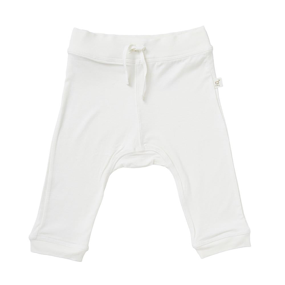 Baby Pull On Pants - Chalk