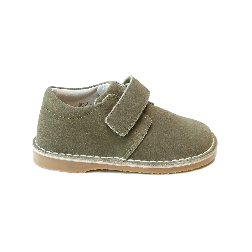 Oliver Stitch Down Velcro Boot - Olive