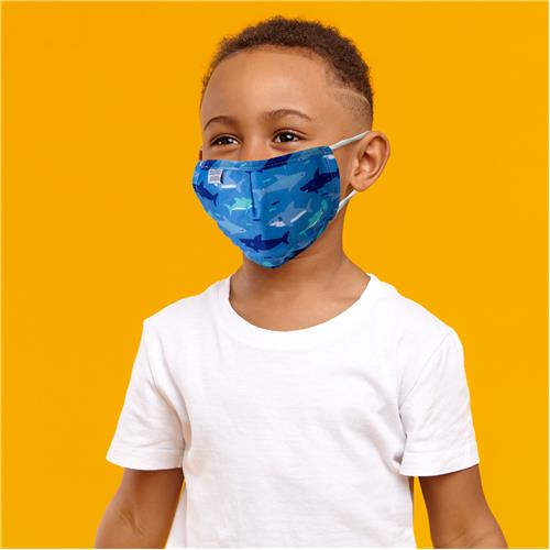 Shark Kids Cotton Face Mask