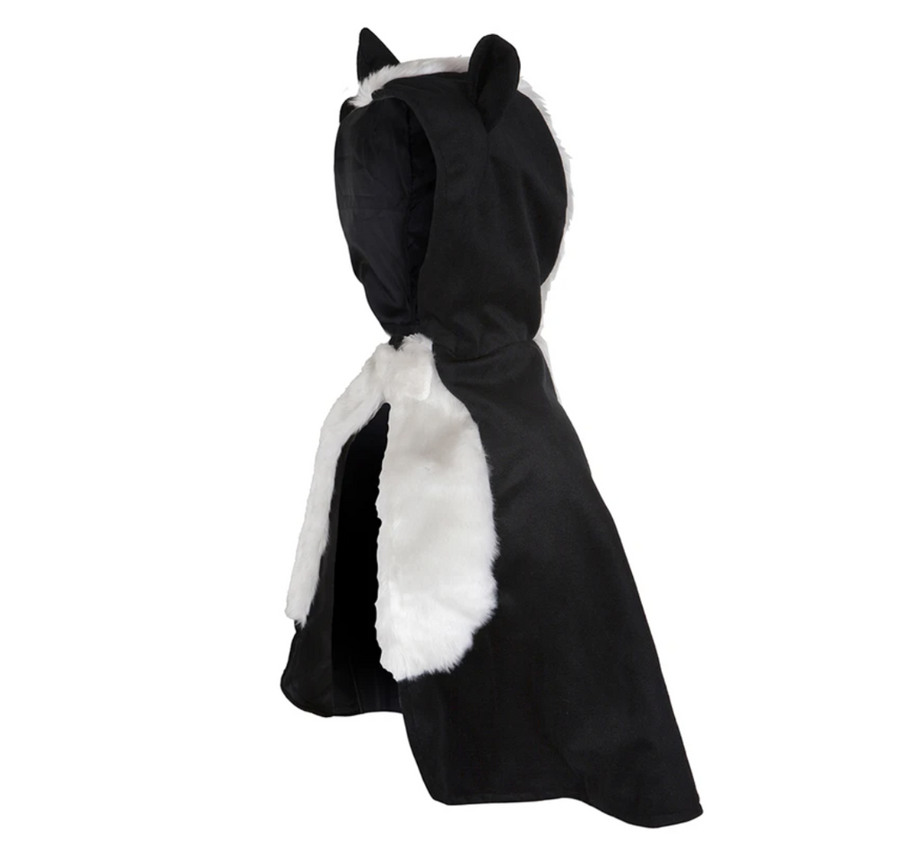 Skunk Toddler Cape