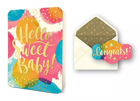 Deluxe Card Sets - Hello Sweet Baby