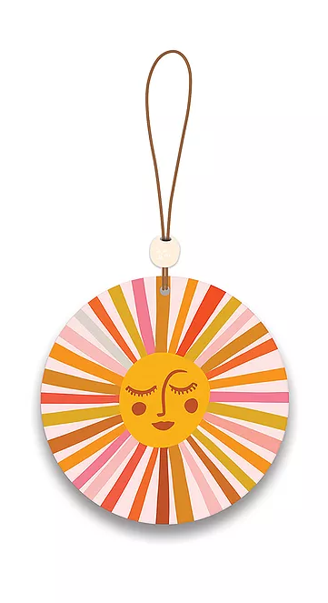 Retro Sunshine Car Air Freshener