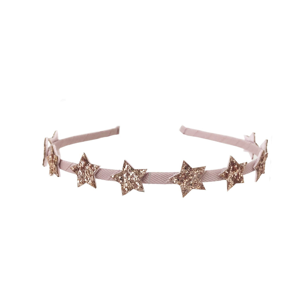 Starry Head Band Pink