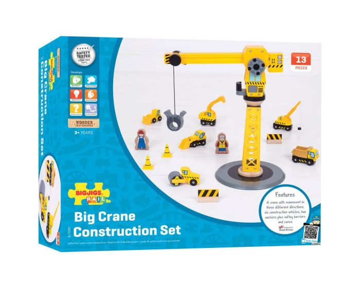 Yellow Crane Construction Set