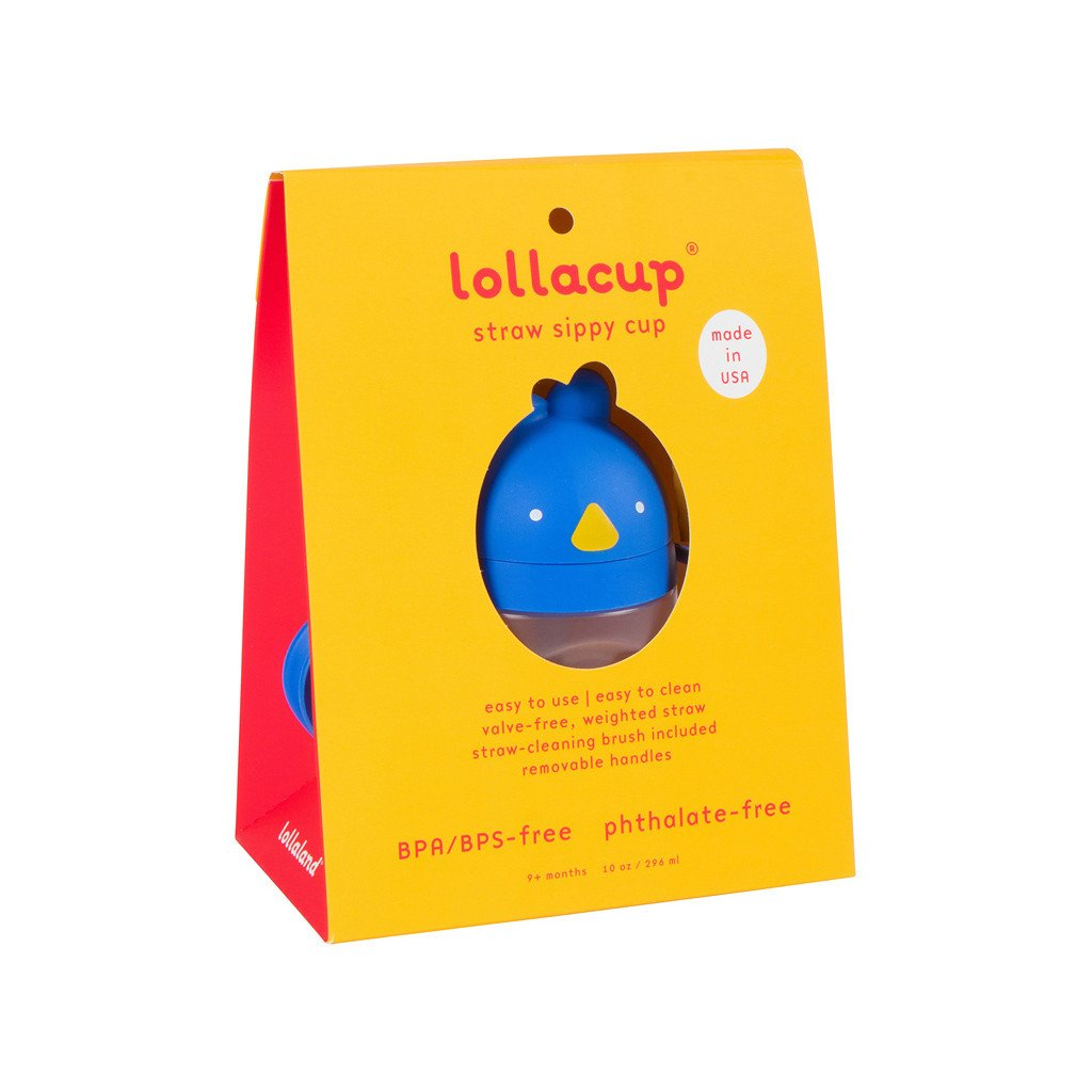 Lollacup - Weighted Straw Sippy Cup
