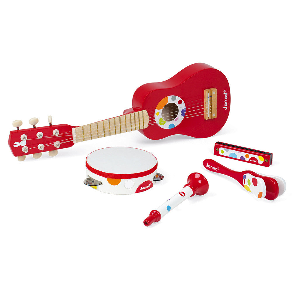 Confetti Wooden Musical Set