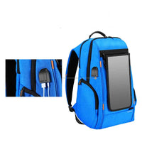 20L 7w Solar powered hiking adventure backpack