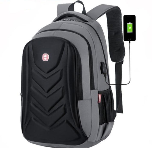 30L Stylish laptop backpack +USB socket