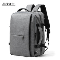 20-35L Expanding travel backpack + external USB socket