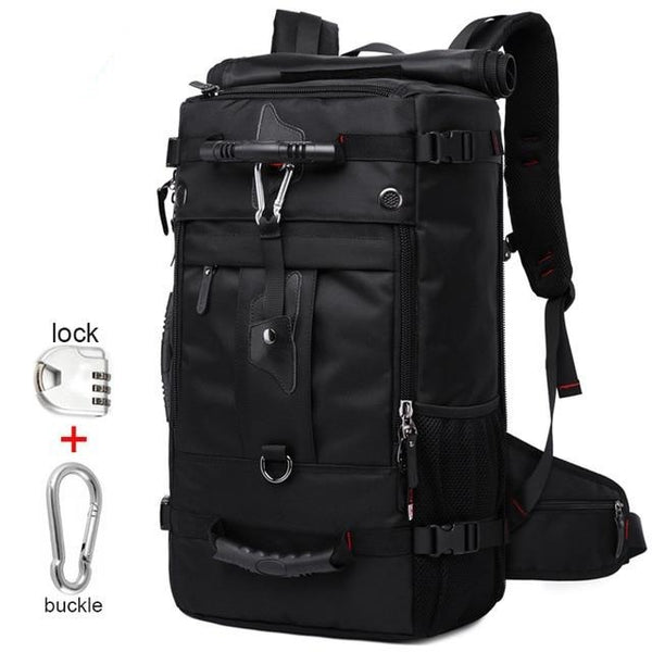 50L hold all travel backpack