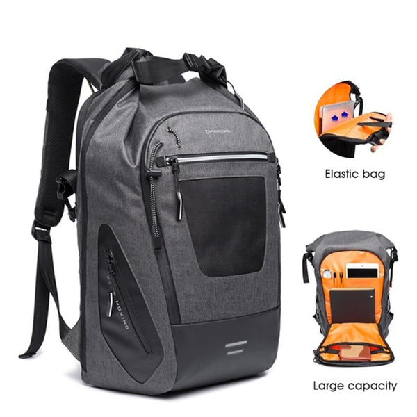 30L soft fabric laptop backpack