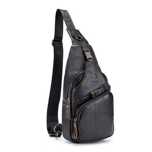 12L Leather mini pack