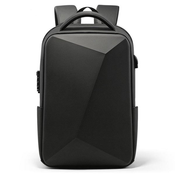 30L Hard shell geo-design laptop backpack