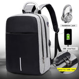24L Anti theft soft pack + external USB + combi lock