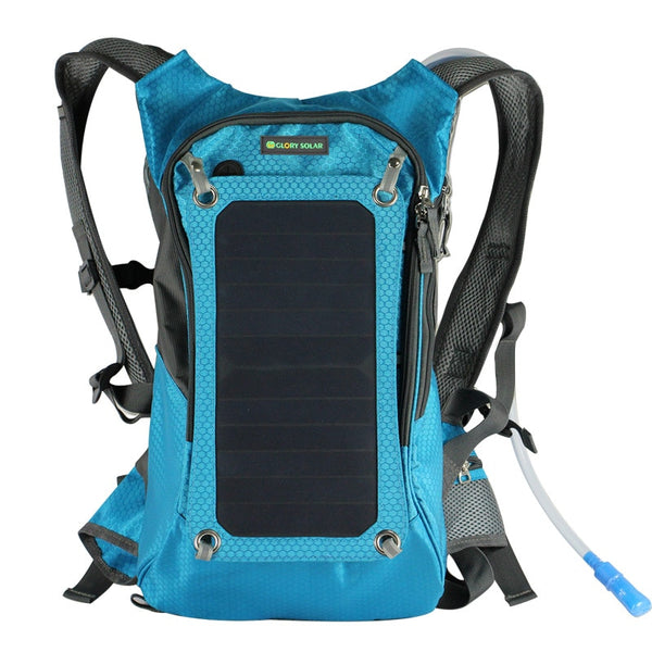18L 9w Solar hiking adventure backpack + hydration system