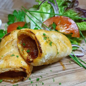 Homemade Sausage Rolls - On the Pigs Back