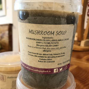 Cream of Mushroom Soup (Frozen) - On the Pigs Back