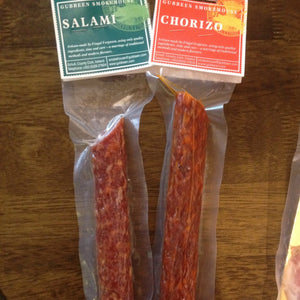 Gubbeen Smokehouse Salamis - On the Pigs Back