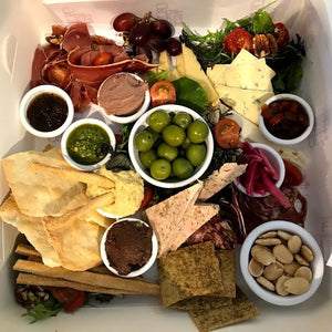 Cheese & Charcuterie Mezze Box - On the Pigs Back