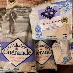 Sel de Guerande - Guerande Sea salt - On the Pigs Back
