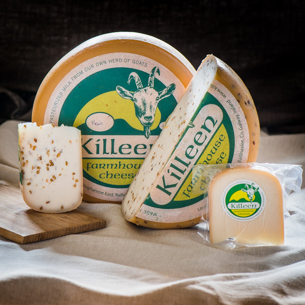 Killeen Goat's Gouda with Fenugreek Seeds 200g (approx)