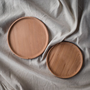 Wooden Plates - On the Pigs Back