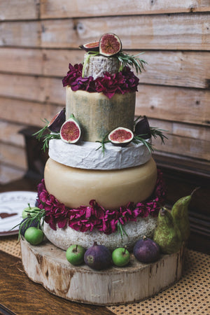 Wedding Cheese Cakes - On the Pigs Back