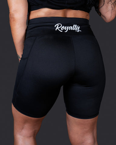 Signature Royalty Women Biker Shorts