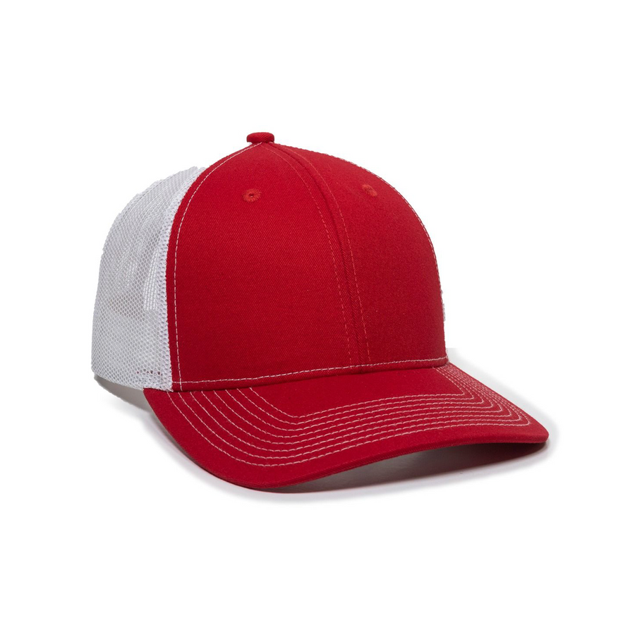 Premium Wide Bill Trucker Cap
