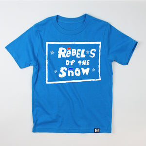 """Rebels of the Snow"" Youth Tee"