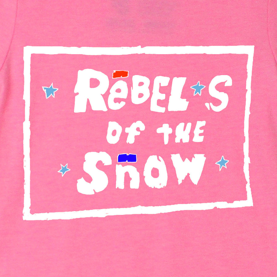 """Rebels of the Snow"" Girls' Tee"