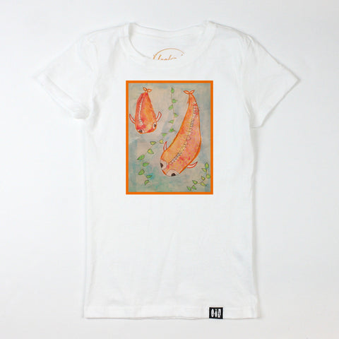 """Koi"" Girls' Tee"